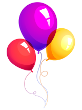 Balloons PNG Pic - Stickeroid